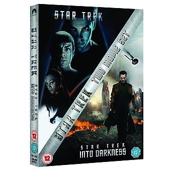 Star Trek & Star Trek Into Darkness Dubbele Slanke Boxset DVD