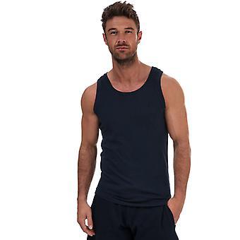 Men's Russell Athletic Singlet Vest in Blue