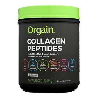Orgain Collagen Peptides Protein Powder Grass Fed, 1 lb
