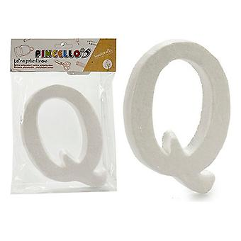 Letter Q polystyrene