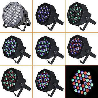 36 *1w LED Plástico Stage Light Quatro Modelos de Controle para Festa Night Club Bar Ktv