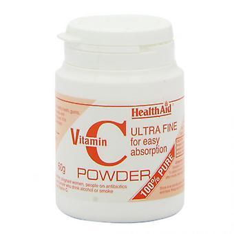 HealthAid Vitamin C 100% Reines Pulver 60g (801180)