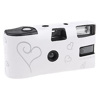 36 Kuvaa Kertakäyttöinen filmikamera Flash Power kertakäyttöinen kerran Ota kuvia -työkalu