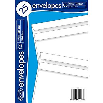 County Stationery C5 Self Seal Envelope (Pack of 25)