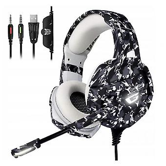Onikuma K5 Wired Gaming Headset With Microphone For Pc Ps4 Switch Xbox One
