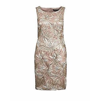 Ivanka Trump Metallic Floral Party Dress