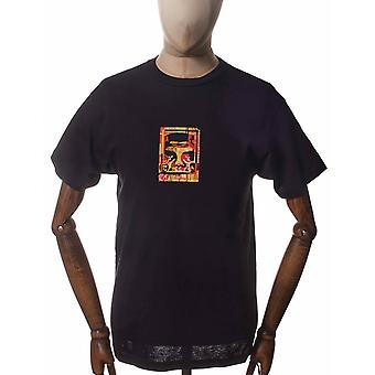 Obey Clothing Icon Face Collage Tee - Black