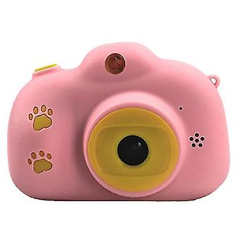 Children fun camera with memory card usb rechargeable child cameras with hp ips digital screen mini