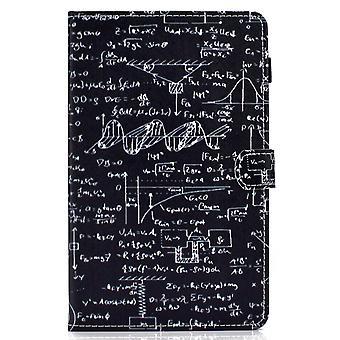 Puzdro na samsung Galaxy Tab A7 kryt s automatickým spánkom / prebudiť vzor magnetické - rovnica