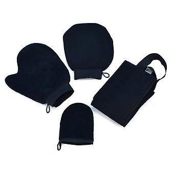 Set Of 4 Sun Protection Gloves Applicator Set