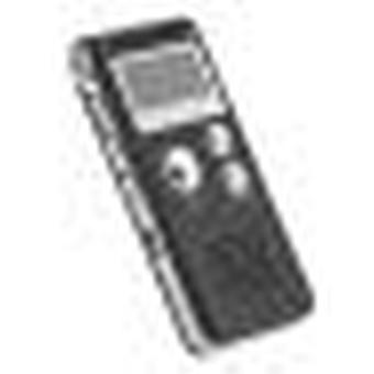 Diktafon 8 Gb digitális hangrögzítő fekete