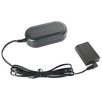 Dot.Foto replacement Canon ACK-E17 AC Adapter Kit - AC Mains Power Adapter & DR-E17 DC Coupler - supplied with UK 3-pin mains cable [See Description for Compatibility]