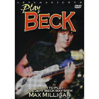 Jeff Beck - Play Beck [DVD] USA import