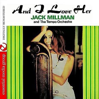 Jack Millman y la orquesta Tempo - y me encanta su importación de Estados Unidos [CD]