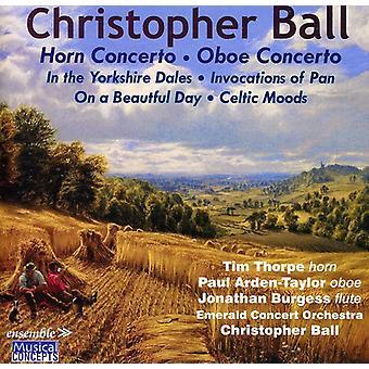 C. Ball - Christopher Ball: Horn Concerto; Oboe Concerto [CD] USA import
