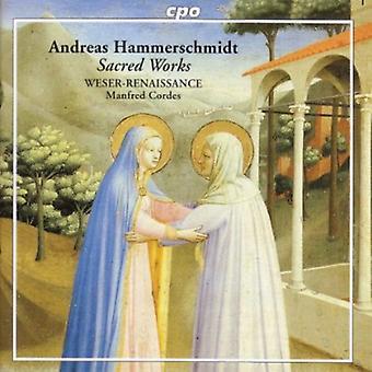 A. Hammerschmidt - Andreas Hammerschmidt: Importación de Estados Unidos de obras sagradas [CD]