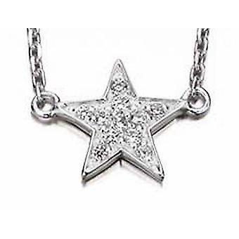 925 Silber Kette Halskette Stars
