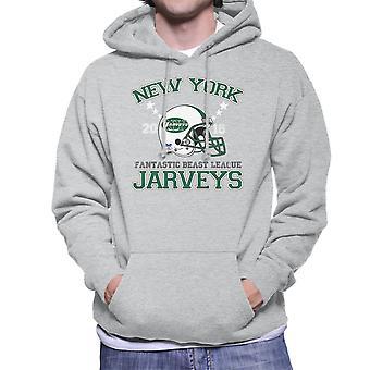 Animaux fantastiques de la Ligue Sweat à capuche masculine de Jarveys New York