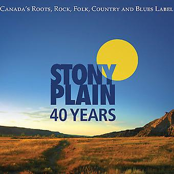 40 Years of Stony Plain Records - 40 Years of Stony Plain Records [CD] USA import
