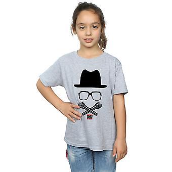 Run DMC meisjes gekruist Mics T-Shirt