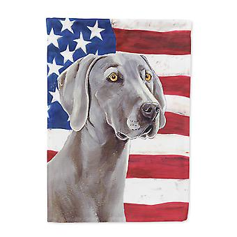 Carolines skatter LH9001-flagg-foreldre USA amerikanske flagget med Weimaraner flagg