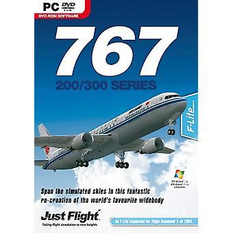 767-200300-tillägg för FSX och FS2004 (PC DVD)-fabriksförseglade
