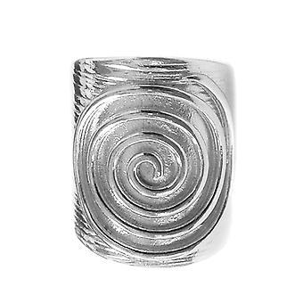 Græske Spira evigheden mønster regulerbar Ring i Sterling sølv