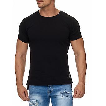 T-shirt motociclista música Patch sujo costura camiseta camisa de manga curta masculina