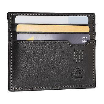 De eigenaar van de creditcard van Timberland mannen, Visitekaartjeshouder, card case zwart 6702
