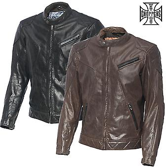 West Coast Choppers Jacke Dominator Leather