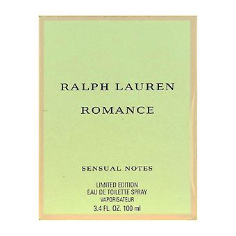 Ralph Lauren Romance sensuele notities Eau De Toilette Spray 3.4 Oz/100 ml nieuw In doos