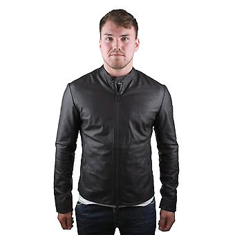 Emporio Armani W1B50P W1P52 0479 Leather Jacket