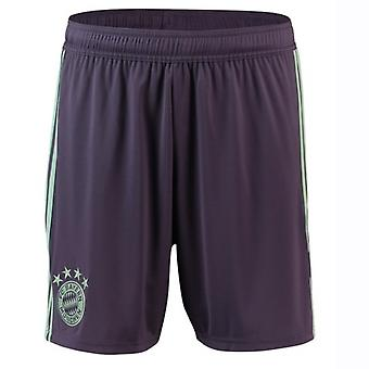 2018-2019 Bayern Munchen pantaloni scurți Adidas away (Purple)-copii