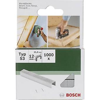 Nietje type 53 1000 PC('s) Bosch accessoires 2609255823 afmetingen (L x W) 14 x 11,4 mm