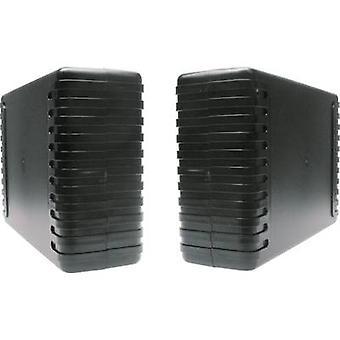 Strapubox 7040 Universal enclosure 220 x 145 x 68 Acrylonitrile butadiene styrene Black 1 pc(s)