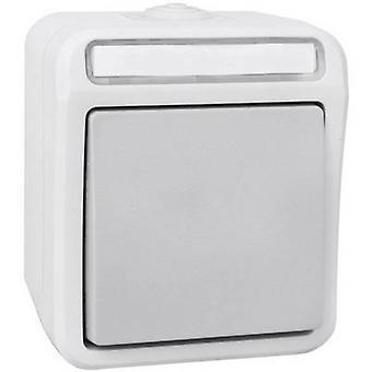 Peranova 102443 Wet room switch product range Switch Pera Light grey, Dark grey