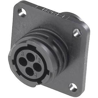 TE Connectivity 182920-1 CPC invertito Socket involucro con rettangolare flangia corrente nominale (Dettagli): Vedi scheda tecnica numero di pin: 37