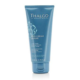 Thalgo Cold Cream Marine Deeply Nourishing Body Cream - For Very Dry Sensitive Skin - 200ml/6.76oz