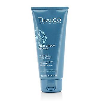 Thalgo creme Marine creme de corpo - profundamente nutritivo para a pele sensível muito seca - 200ml/6,76 oz