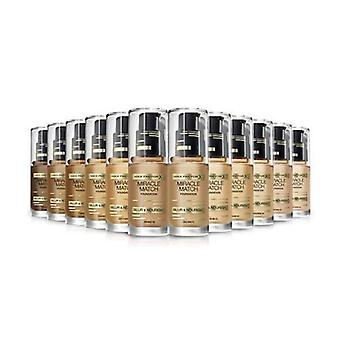 3 x Max Factor Miracle Match Blur & Nourish Foundation 30ml - Various Shades
