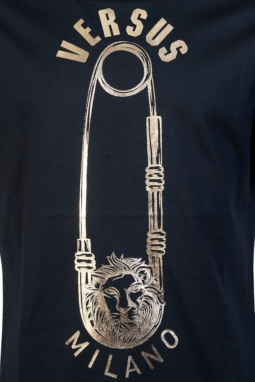 Versace Round Neck T Shirt BU90651E BJ10388