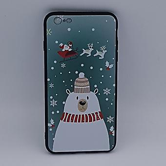 iPhone 6/6S pouch-Christmas-polar bear with Hat