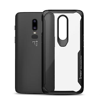 IPAKY OnePlus 6 TPU Hybrid Shell-Black