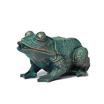 Frog, Fountain for the garden 21x14x11 cm
