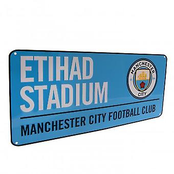 Manchester City Street Sign BL