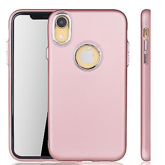 Apple iPhone XR - mobiele telefoon geval voor Apple iPhone XR - mobiele aanvraag in rose pink