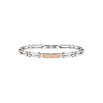 MASERATI - bracelet - men's-PRESTIGE steel PVD ROSÉ GOLD - JM417AKV04