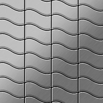 Metall mosaikk rustfritt stål LEGERING Flux-S-S-MB