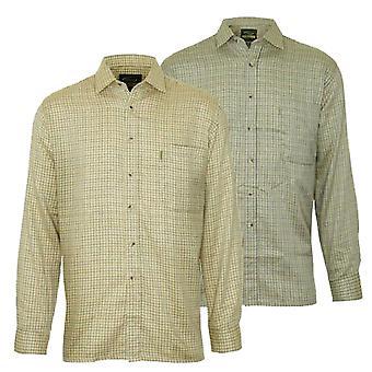 Champion Mens Cartmel Casual Long Sleeve Shirt (Pack of 2)