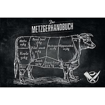 The butcher's Guide poster 61 x 91.5 cm